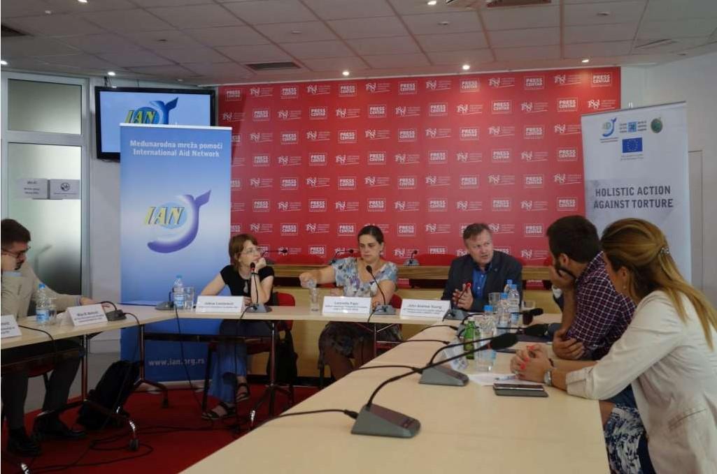 Konferencija za novinare u Beogradu